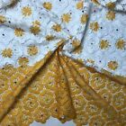 Beaded Fabric Nigerian Cord Lace Fabric African Wedding Dresses Guipure Cotton