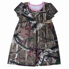 Browning Toddler Lily Dress Mossy Oak Camo W/ Pink Accents CHOOSE SIZE T34