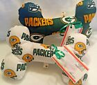 "GREEN BAY PACKERS Squeaky Bone Stuffed Dog Toy 10"" or 13"" Size CHRISTMAS NEW $14.75 USD on eBay"