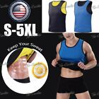 body paets - Mens Hot Sweat Body Shaper Slimming Sauna Suits Waist Trainer Vest Tank Top
