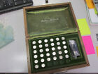 "THE FRANKLIN MINT ""PLATINUM"" PRESIDENTIAL MINI COIN SET FIRST EDITION SOLID"