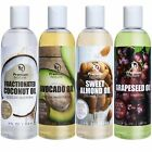 Carrier Oil Gift Set Coconut Oil - Grapeseed Oil - Avocado Oil & Sweet Almond Oi