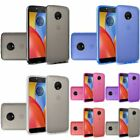 For Motorola Moto E4 Plus TPU Rubber Candy Skin Transparent Case Cover