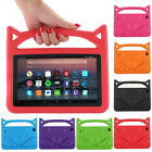"Safe Shockproof Handle Foam EVA Stand Case Cover For Amazon Kindle Frie 7"" 2017"