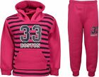 Girls Tracksuits Hoodie Top Elastic Waist Joggers Kids Jogging Suits Ages 2-12yr