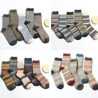 5 Pairs Mens Style Warm Autumn Winter Soft Thick Knit Rabbit Wool Ankle Socks US