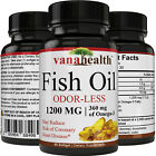 Fish Oil 1200 Mg (360 Mg Omega-3) Highly Concentrated Fish Oil Omega 3 Pills