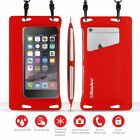 Waterproof Underwater Case Cover Bag Dry Pouch For Apple Samsung Cell Phone