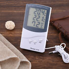 Mini LCD Digital Thermometer Hygrometer Humidity Monitor Weather Station AB