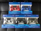 dualshock 4 controller blue - LATEST Sony PlayStation 4 PS4 Dualshock 4 Wireless Controller SILVER RED BLUE