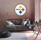 Pittsburgh Steelers NFL Team Logo Color Printed Decal Sticker Car Window Wall on eBay