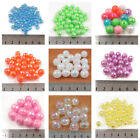 FACETED AB ACRYLIC BEADS *5 SIZES* *26 COCLOURS* BEADING JEWELLERY MAKING CRAFTS