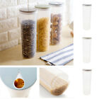 Cylinder Noodle Container Spaghetti Canister Cereal Crisper Grains Box Case V