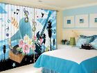 3D Speakers Guitar 52 Blockout Photo Curtain Printing Drapes Fabric Window CA