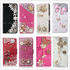For ZTE Blade Z Max/ Blade Zmax Pro Bling Diamond Leather Wallet Card Case Cover