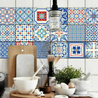 Pack of 18 Tile Stickers Wall Kitchen Bathroom Floor Decor Vinyl Decal Gift Deco