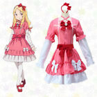 Anime Eromanga Sensei Yamada Elf Cosplay Costumes Lolita Princess Dress+Headwear