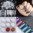 Nail Glitter Powder Mirror Chameleon Holographic Chrome Pigment DIY Born Pretty