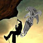 Steel Gravity Grappling Hook Climbing ClawCarabiner Survival Tool/550 Cord 100ft