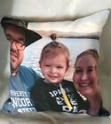 2 SIDED Personalized Photo Family Photo Custom Printed Couch Throw Pillow