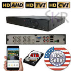 Sikker Standalone 8 Ch Channel DVR CVI TVI AHD 960H 720P 1080P Security System