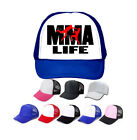 Kids and Adults size MMA LIFE Trucker's hat, you choose design/hat colors