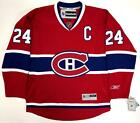 CHRIS CHELIOS MONTREAL CANADIENS REEBOK PREMIER JERSEY SIZE LARGE NEW WITH TAGS