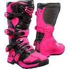 Fox Racing - Youth COMP 5 BOOTS - Pink/Black - 16449