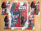Star Wars THE LAST JEDI Vintage POTF2 Kenner Style Custom Carded 3.75 Figure $35.00 USD