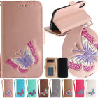 Butterfly Stand Leather Card Wallet Magnetic Case Cover For Samsung Huawei Sony