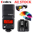 Godox 2.4 TTL TT350C Flash Speedlite + X1T-C Trigger for Canon Camera AU STOCK
