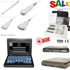 CE Portable Ultrasound Scanner Laptop Machine Diagnostic System Optional 4 Probe