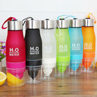 bike cup - 650ML Lemon Cup Bottle H2O Drink More Drinking Bike Water Bottle Containers FREE