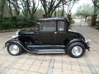 1929+Ford+Model+A+UNCUT+5%2DWINDOW+COUPE+TUXEDO+BLACK+STREET+ROD+COUPE