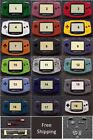 GBA Game Boy Advance Replacement Housing Shell Screen  USA! Pick Color