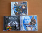 Factory sealed Sega dreamcast games lot, deep fighter, pod speed zone & nba 2k.