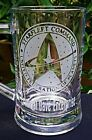 Star Trek - Starfleet Command Engraved Glass - Personalised