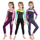 2.5MM Neoprene Girl's Warm One-piece Swimwear Coverall Wetsuits Surfing Diving
