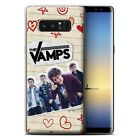 Gel/TPU Case/Cover for Samsung Galaxy Note 8/N950 /The Vamps Doodle Book