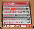 New 8 Game Atari 2600 7800 Asteroid Ms Pacman Joust Jungle Hunt Galaxian Dig Dug