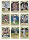 2011 TOPPS GYPSY QUEEN - STARS, ROOKIE RC'S, HOF - WHO DO YOU NEED!!!
