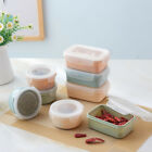 2018 Round Portable Microwave Lunch Box Picnic Bento Food Container Storage New