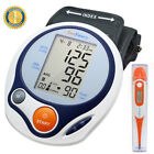 Automatic Arm Blood Pressure Monitor BP Cuff Machine Gauge Tester + Thermometer $7.99 USD on eBay