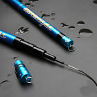SuperStrong Carbon Fiber telescopic Fishing Rod Travel Spinning Pole Sea