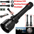 ir torch - Zoomable Long Range 10W IR 850nm T50 LED Hunting Light Night Vision 18650 Torch