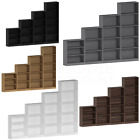 Cambridge 3 4 5 Tier Bookcase Display Shelving Storage Unit Wood Stand Furniture