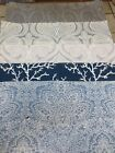 Pindler & Pindler  Fabric sample  crafts upholstery Chair Stool pillow Sunbrella