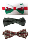 Welsh Wales - Bow Ties / Dicky Bow - Welsh Flag, Welsh Dragons, Black Dragons