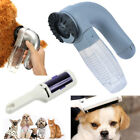 1xCat Dog Pet Hair Remover Shedding Grooming Brush Comb Vacuum Cleaner Trimmer