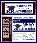 NAVY AND WHITE GRADUATION FAVORS CANDY BAR WRAPPERS HERSHEY